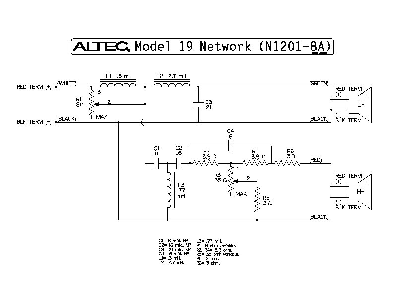 altec_voice_of_the_theater_x over_n1201 8a high efficiency speaker asylum Altec Bucket Wiring-Diagram at aneh.co