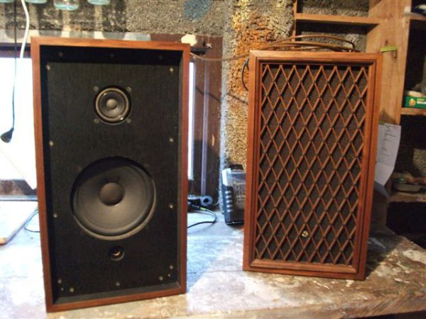 Re Pioneer Cs Series Active Vintage Speakers Slimecity