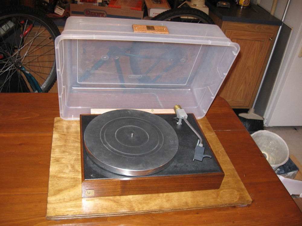 AR-XA Turntable Dust Cover/ Home Depot - mark korda