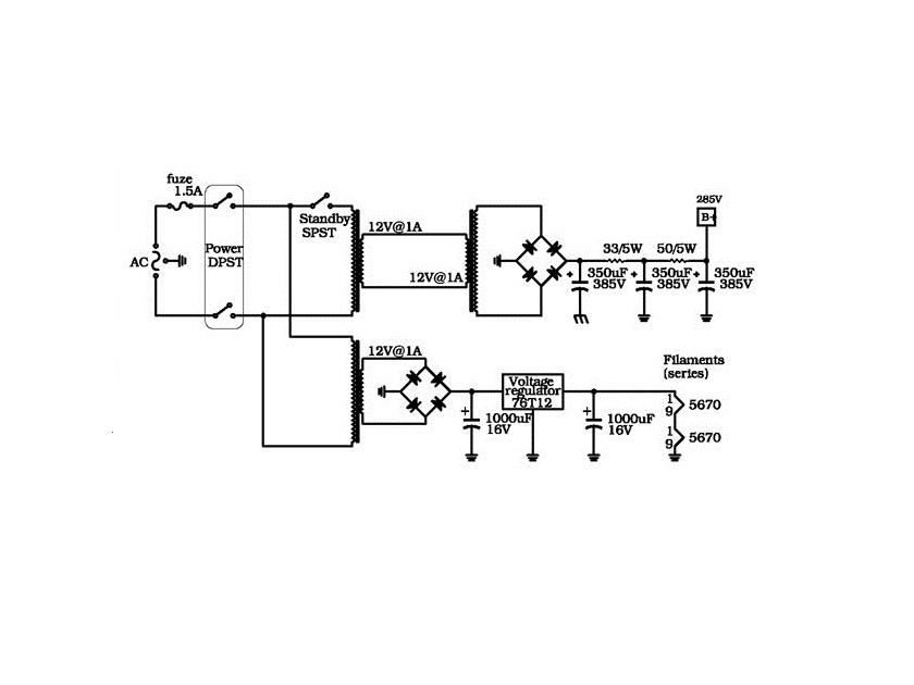 12ax7 heater wiring diagram wiring diagram expert 12AX7 6.3V Filament Wiring